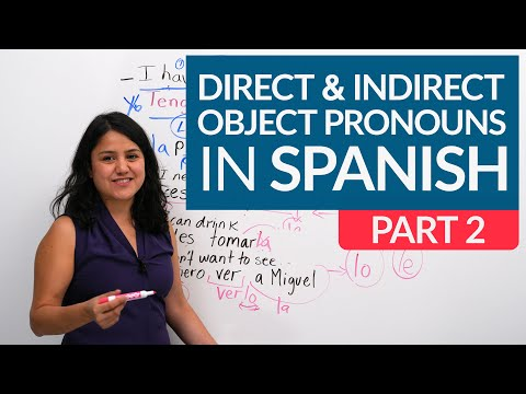 DIRECT & INDIRECT OBJECT PRONOUNS WITH 2 VERBS in Spanish: ALL you need to know – me, te, lo, nos