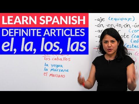 Choose the correct gender in Spanish: el & la – ALL you need to know about articles in Spanish