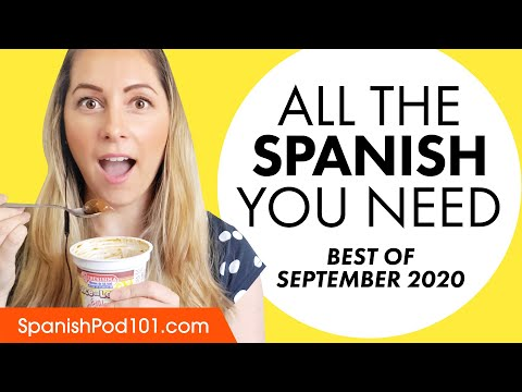 Your Monthly Dose of Spanish – Best of September 2020