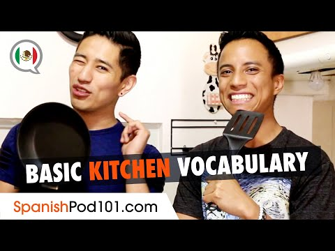 Mexican Spanish Vocabulary for the Kitchen
